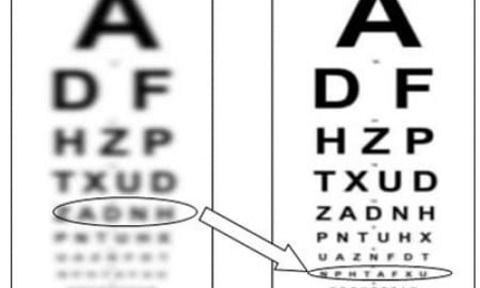 The improvement of vision in difficult cases is possible thanks to neuroadaptation photo